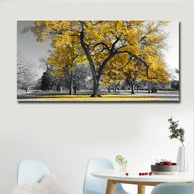 HD Framed Prints Modern Abstract Canvas Oil Painting Furniture Wall Decor