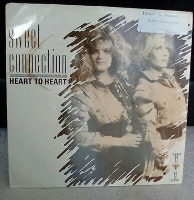 """Sweet Connection – Heart To Heart Vinyl 12"""" Single Germany Polydor 1989"""
