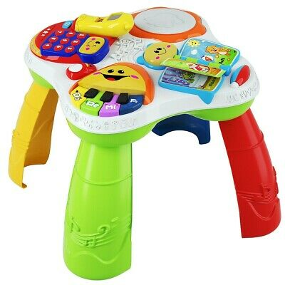 Fisher-Price Baby Kids Learning Activity Learning Table Educational Play Center