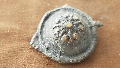 Stunning very rare Roman/Byzantine bronze brooch Please read description. L123v