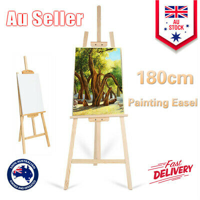 180cm Painting Wooden Easel Wedding Table Card Stand Display Holder W6