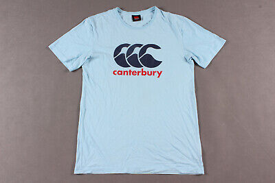 Official Canterbury T Shirt CCC Short Sleeve 100/% COTTON Rugby Large  T243-10