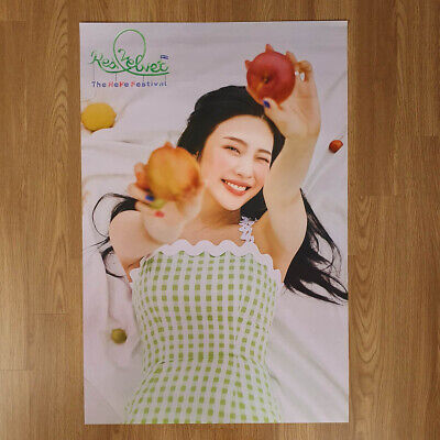 [Poster Only] Joy ver Red Velvet The ReVe Festival Day2 Hard Case Packing Kpop