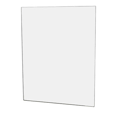 "Ad Frame Sign Document Holder 11""W x 14""H Wall Mount No Holes"