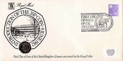 GB FDC PNC Coin Royal Mint/Royal Mail covers from 1980 to 1994.