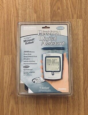 NEW Rolodex Electronics Touch Screen Personal Digital Assistant RF-8120