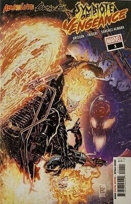 Absolute Carnage Symbiote Of Vengeance #1 Ac Marvel Comics Eb57 9/11/2019