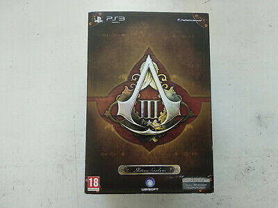 Boite vide Collector Assassin Creed 3 III Freedom Sony Playstation PS4 FR