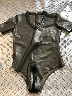 Latex Rubber Clinic Body Catsuit Clinic Rauch XLarge