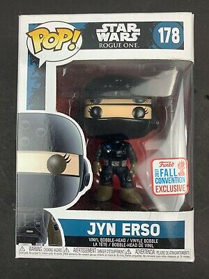 Jyn Erso Disguise Star Wars Funko POP 178 NEW 2017 Fall Con Exclusive NYCC