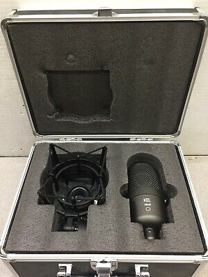 KEL HM-2D Supercardioid Condenser Large Diaphragm Microphone w/case shock mount