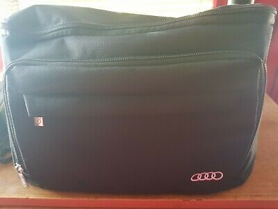 Genuine Audi 10 Piece Car Care Cleaning Detailing Kit in Case 04L 096 353C.