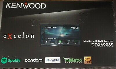 Kenwood DDX6906S DVD Receiver Apple Carplay & Android Auto