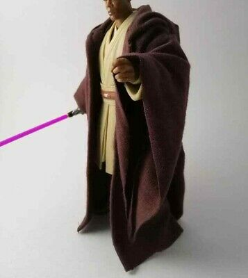 Custom Brown Jedi Robe for Mace Windu Star Wars 6 inch Black Series NO FIGURE