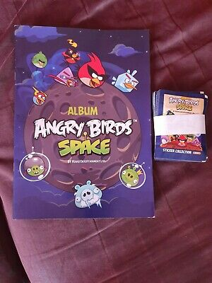 Stickers 25 Pochettes Vignettes Panini ~ Angry Birds