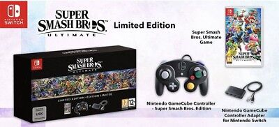 Super Smash Bros. Ultimate Limited Special Edition Nintendo Switch New Sealed