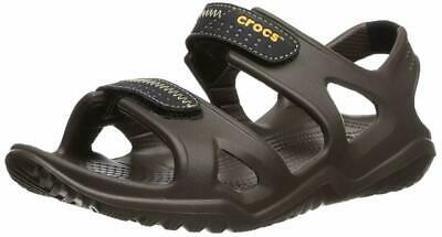 Crocs Mens Swiftwater Sandals Closure Slip ons Beach Summer Shoes Sizes UK 11+12