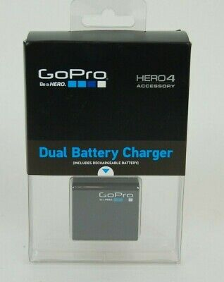 Authentic GoPro Hero 4 Dual Battery Charger with Battery OEM AHBBP-401 NIB