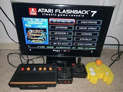 Atari Flashback Classic Game Console & Pacman Console