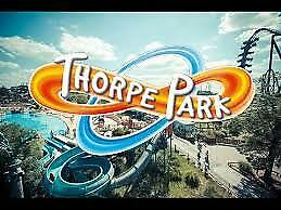 2 x thorpe park tickets - 13/09/2019 / free 1st class recorded