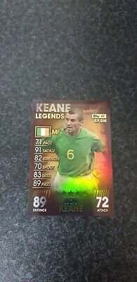 2019 Topps Match Attax 101 LEGENDS / 100 CLUB / LIMITED EDITION Cards Keane