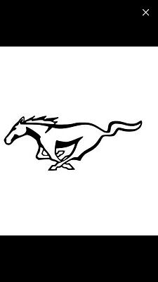 """32/"""" Ford Mustang Tribal Pony Horse car truck window Racing Stripe Decal Sticker"""
