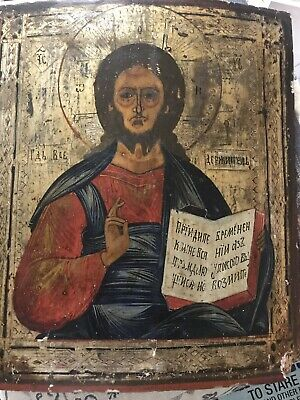 Russian 18 century original icon