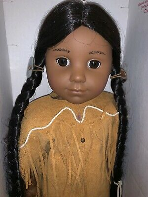 American Girl Doll Historical Collection Kaya RETIRED RARELY USED IN BOX
