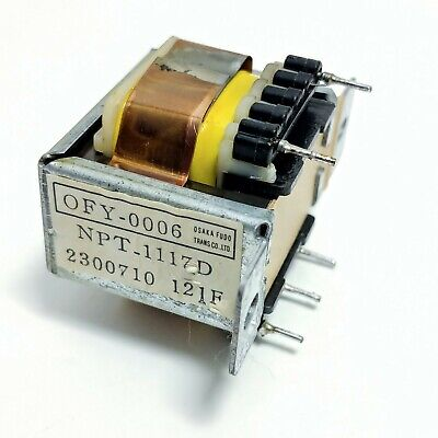 Onkyo A-809 Integrated Amp Parts Standby Transformer NPT-1117D Tested
