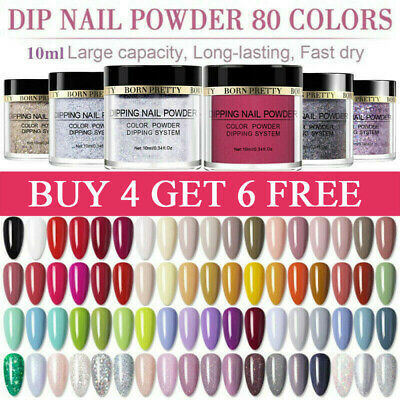 BORN PRETTY Nail Art Dipping Powder Chameleon Holographic Dip Liquid Starter Kit