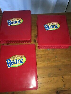 Mighty Beanz Carry Cases, see list sold individually.