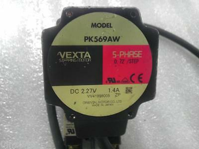 1PC USED VEXTA / Oriental five-phase stepper motor PK569AW  #A