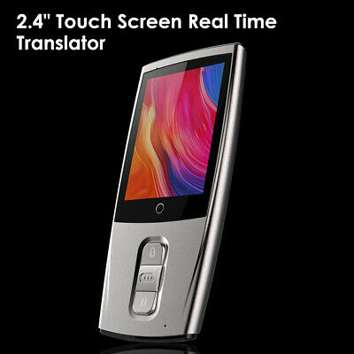 2.4 Inch Touch Screen Real Time Instant Voice Translation for Travel Business