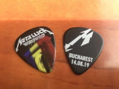 Metallica Bucharest, Romania Guitar Pick Worldwired Tour 14.08.19 Aug 14th 2019
