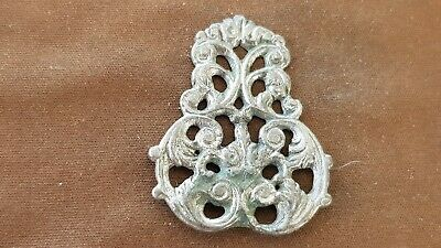 Stunning VR Post Medieval Silver 4.38g mount. Please read description. L149r