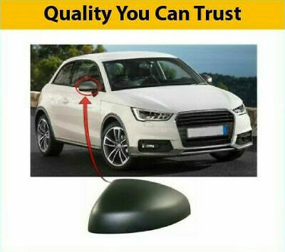AUDI A1 2015-2018 DOOR WING MIRROR COVER PRIMED DRIVER SIDE HIGH QUALITY NEW