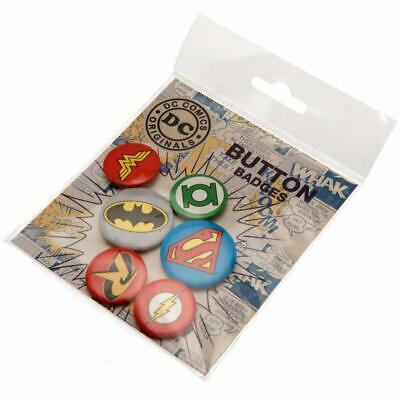 GB Eye  DC Comics Logos Badge Pack Buttons Anstecknadeln Robin Batman Superman