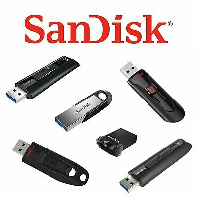 SanDisk Ultra Extreme 16GB 32GB 64GB 128GB 256GB USB 3.0 Flash Speicherstick AUG