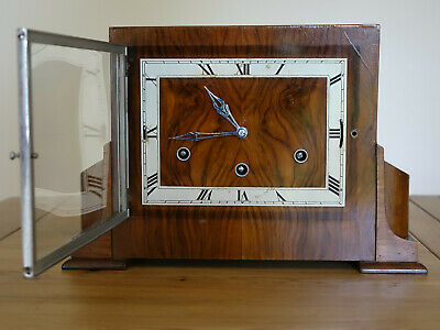 1930's Westminster and Whittington Chiming Mantel Clock