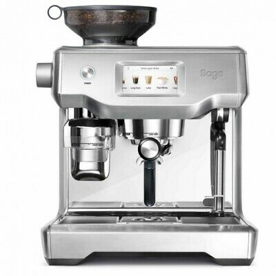 Sage Appliances The Oracle Touch Edelstahl SES990BSS Siebträgermaschine Espresso