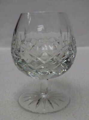 """GALWAY Ireland crystal CLIFDEN Cut Foot pattern Brandy Glass or Goblet - 5"""""""