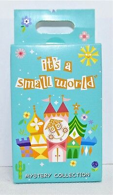 Disney Parks Exclusive Its A Small World Mystry Box Collection 2 Pin NEW SEALED