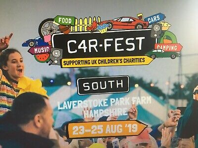 Carfest South 2019 Tickets - 2 x Saturday August 24th tickets