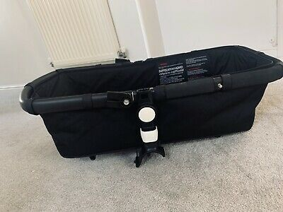 Bugaboo cameleon 3 carrycot Bassinet with mattress & wooden board Black 1 & 2
