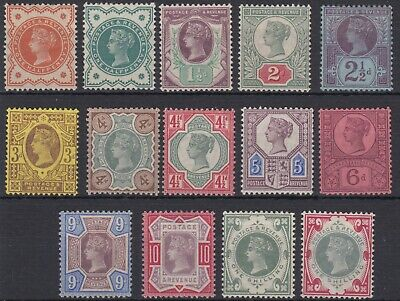 SG 197-214 Jubilee set of 14 in average mounted mint condition,ever popular set.