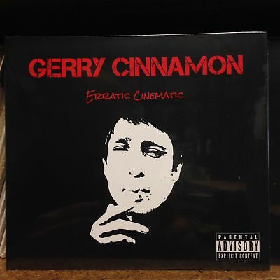 GERRY CINNAMON - ERRATIC CINEMATIC - NEW CD POSTED FROM GLASGOW (2019) Belter!