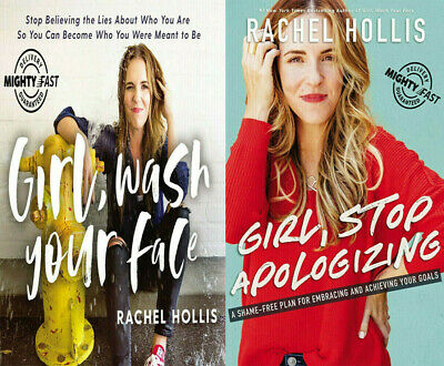 Girl Wash Your Face + Girl Stop Apologizing Rachel Hollis ᑭ.ᗪ.ᖴ *ɪɴsᴛᴀɴᴛ ᴅᴇʟᴠʀʏ*