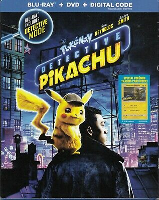 Detective Pikachu (Bluray/Dvd/Digital Code)(2 Disc Set)(Used)