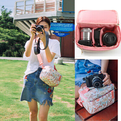 Compact Camera Bag Lens Padded Protector Shoulder Bag For Sony a6000 Mirrorless