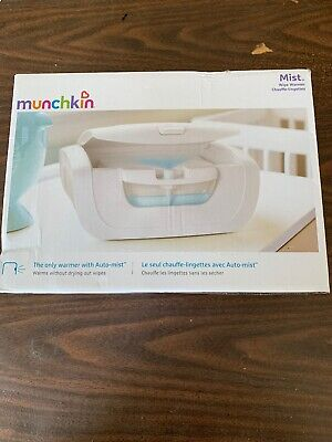 Munchkin Mist Wipe Warmer New and Improved